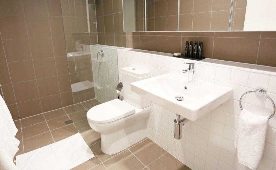 one-bedroom-bathroom   Alex Perry Hotel & Apartments