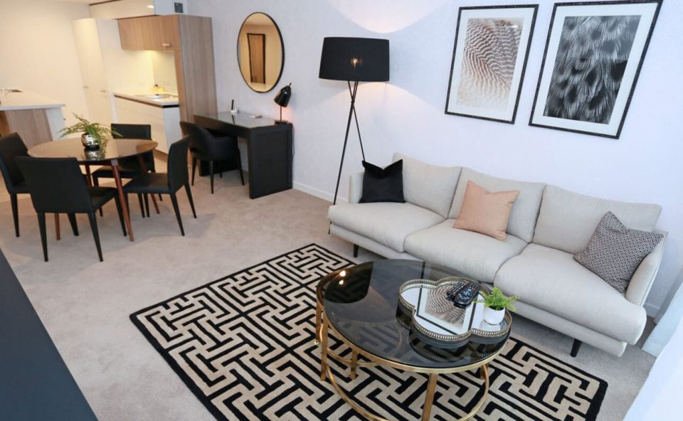 two-bedroom-apartment-blonde-overview | Alex Perry Hotel & Apartments