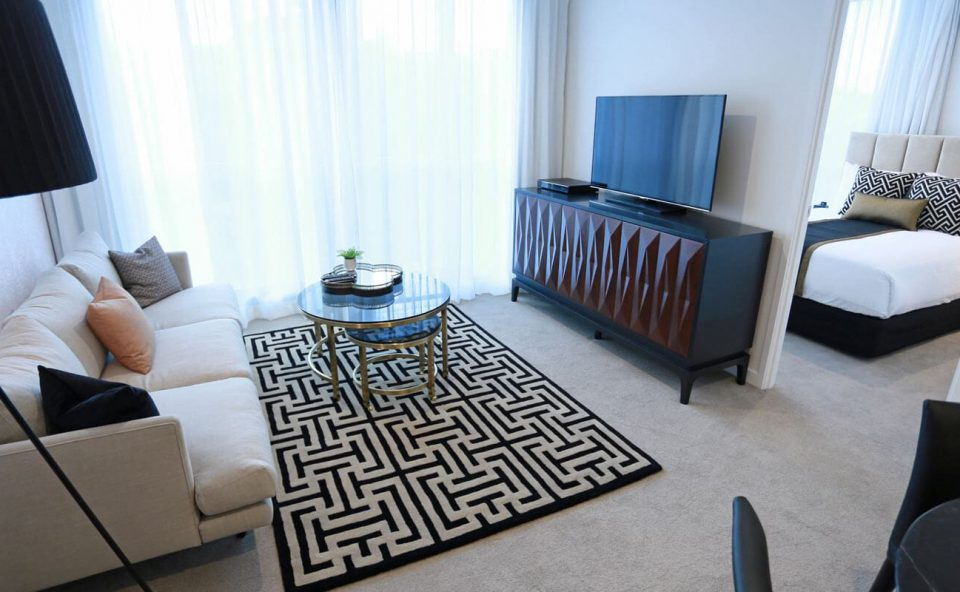 two-bedroom-apartment-lounge | Alex Perry Hotel & Apartments