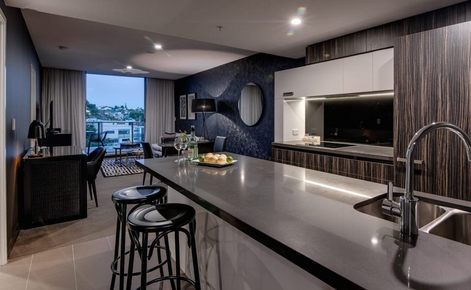 two-bedroom-executive-kitchen | Alex Perry Hotel & Apartments
