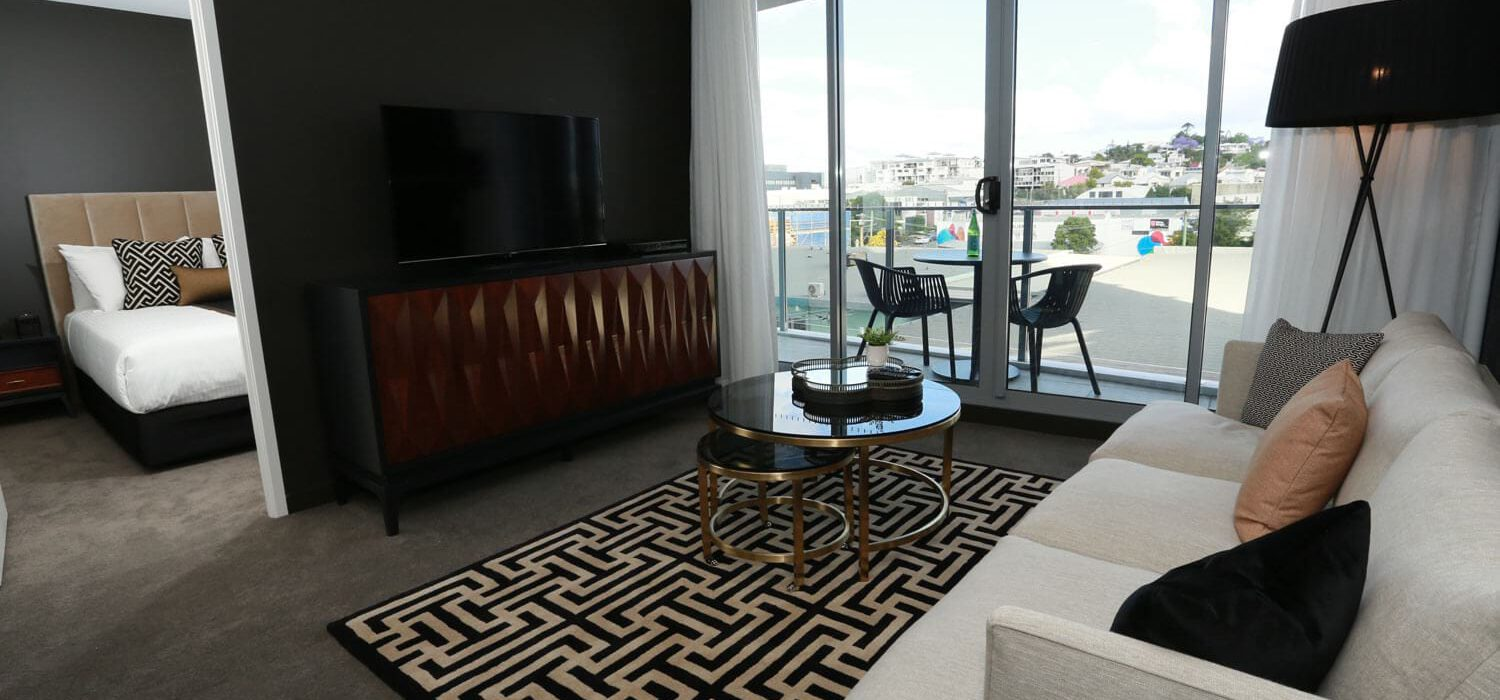 two-bedroom-executive-lounge-view | Alex Perry Hotel & Apartments