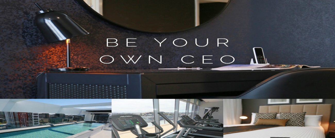 Be Your Own CEO  | Alex Perry Hotel & Apartments