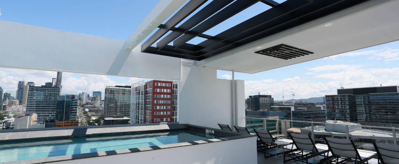 Rooftop Pool | Alex Perry Hotel & Apartments