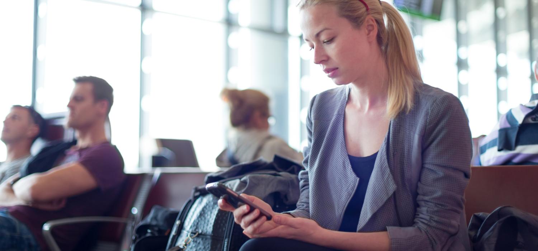 Female Corporate Traveller